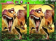 Ice Age dinosaurs spott the difference dinoszaurusz j�t�kok